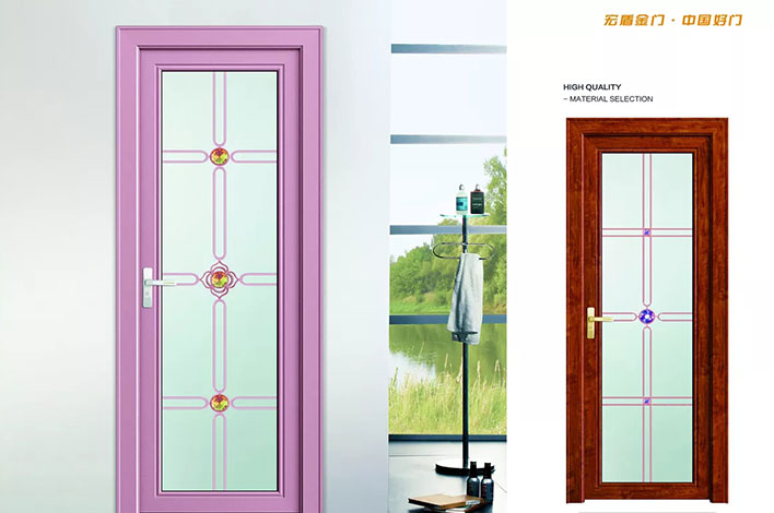 宝马紫-平开门